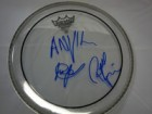 Anvil Signed 10 Remo Drumhead by Steve Lips Kudlow & Robb Reiner