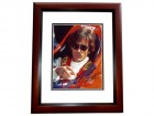 Arie Luyendyk Signed - Autographed Auto Racing 8x10 inch Photo MAHOGANY CUSTOM FRAME - Guaranteed to pass PSA or JSA