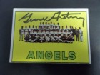 Gene Autry (Los Angeles Angels) Signed Topps Card in black ink