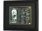 Jimmy Key signed New York Yankees 16x20 Photo Custom Framed Babe Ruth with 48 signatures