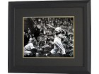 Duke Snider signed Dodgers B&W Batting 16x20 Photo Custom Framed