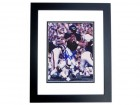 Bobby Douglas Signed - Autographed Chicago Bears 8x10 inch Photo BLACK CUSTOM FRAME - Guaranteed to pass PSA or JSA