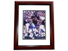 Bobby Douglas Signed - Autographed Chicago Bears 8x10 inch Photo MAHOGANY CUSTOM FRAME - Guaranteed to pass PSA or JSA