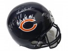Dick Butkus, Mike Singletary & Brian Urlacher Signed Chicago Bears Full Size Replica Helmet w/Monsters Of The Midway