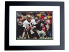 Billy Joe Tolliver Signed - Autographed New Orleans Saints 8x10 inch Photo BLACK CUSTOM FRAME - Guaranteed to pass PSA or JSA