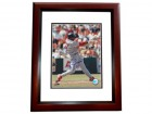 Brian Jordan Signed - Autographed St. Louis Cardinals 8x10 inch Photo MAHOGANY CUSTOM FRAME - Guaranteed to pass PSA or JSA