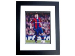 Bojan Krkic Signed - Autographed FC Barcelona 8x10 inch Photo BLACK CUSTOM FRAME - Guaranteed to pass PSA or JSA