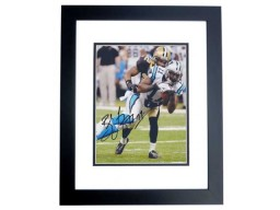 Brandon LaFell Signed - Autographed Carolina Panthers 8x10 inch Photo BLACK CUSTOM FRAME - Guaranteed to pass PSA or JSA