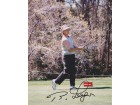 Bernhard Langer Autographed Golf 8x10 Photo - 1985 and 1993 Masters Champion