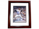 Bill Lee Signed - Autographed Boston Red Sox 8x10 inch Photo MAHOGANY CUSTOM FRAME - Guaranteed to pass PSA or JSA - SPACEMAN