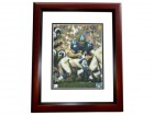 Bob Lilly Signed - Autographed Dallas Cowboys 8x10 inch Photo MAHOGANY CUSTOM FRAME - Guaranteed to pass PSA or JSA