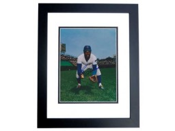 Bill Matlock Signed - Autographed Chicago Cubs 8x10 inch Photo BLACK CUSTOM FRAME - Guaranteed to pass PSA or JSA