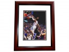 Ben McLemore Signed - Autographed Kansas Jayhawks 8x10 inch Photo MAHOGANY CUSTOM FRAME - Guaranteed to pass PSA or JSA - Drafted by Sacramento Kings
