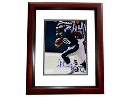 Brian Mitchell Signed - Autographed Philadelphia Eagles 8x10 inch Photo MAHOGANY CUSTOM FRAME - Guaranteed to pass PSA or JSA