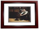 BJ Novak Signed - Autographed Actor 8x10 inch Photo MAHOGANY CUSTOM FRAME - Guaranteed to pass PSA or JSA - The Mindy Project - The Office