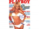 Brande Roderick Signed Playboy Magazine June 2001 Playmate Of The Year