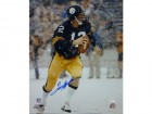 Terry Bradshaw Autographed Pittsburgh Steelers 16x20 (Snow) JSA