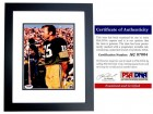 Bart Starr Signed - Autographed Green Bay Packers 6x9 inch Photo - PSA/DNA Certificate of Authenticity (COA) - BLACK CUSTOM FRAME