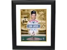Don Larsen signed New York Yankees 11x14 Collage Photo Custom Framed 1956 WS Perfect Game 50th Anniversary