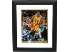 Magic Johnson signed Los Angeles Lakers 8X10 Photo Custom Framed- PSA Hologram