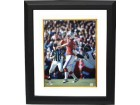 Steve Grogan signed New England Patriots 16X20 Photo Custom Framed