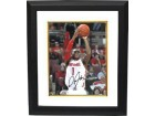 Deshaun Thomas signed Ohio State Buckeyes 8x10 Photo Custom Framed (Jumpshot-white jersey)