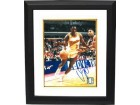 Dominique Wilkins signed Atlanta Hawks Driving to Goal 8x10 Photo Custom Framed