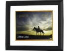 Belmont Stakes Winners signed Belmont Park Sunrise Horse Racing 16x20 Photo Custom Framing w/ 3 Sig