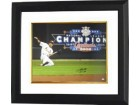So Taguchi signed St. Louis Cardinals 16x20 Photo Sliding Custom Framed (2006 World Series Champs) English/Japanese