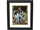 Bruce Hurst signed Boston Red Sox 16x20 Color Photo Custom Framed 1986 AL Champs w/ 19 Signatures