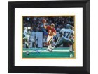 Joe Theismann signed Washington Redskins 16x20 Photo Custom Framed vs Dallas NFL MVP 1983