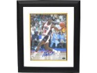 Magic Johnson signed Team USA Olympic Dream Team 8X10 Photo Dribble Custom Framed