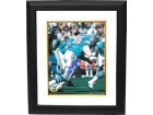 Elvin Bethea signed Houston Oilers 8x10 Photo Custom Framed HOF 03
