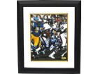 Floyd Little signed Denver Broncos TB 8x10 Photo Custom Framed HOF 10
