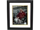 Bobby Bowden signed Florida State Seminoles 8x10 Photo Custom Framed Final Game Carryoff Spotlight (helmet)