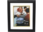 Bobby Hull signed Chicago Blackhawks 16X20 Photo Custom Framed Blood HOF 1983