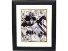 Archie Manning signed New Orleans Saints 8x10 Photo Vintage B&W Custom Framed- Steiner Hologram