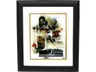 Larry Holmes signed Boxing 16x20 Photo Collage Custom Framed (Easton Assassin)