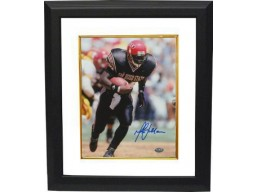 Marshall Faulk signed San Diego State Aztecs 8x10 Photo Custom Framed