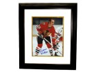 Dennis Hull signed Chicago Blackhawks 8x10 Photo Custom Framed