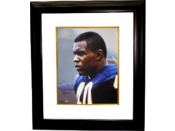 Gale Sayers signed Chicago Bears 16x20 Photo Custom Framed HOF77