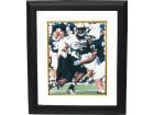 Antonio Bryant signed Pittsburgh Panthers 8x10 Photo Custom Framing - Famous Ink Hologram