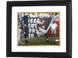 Carnell Williams signed Tampa Bay Buccaneers 16X20 Photo Custom Framed- Williams Hologram
