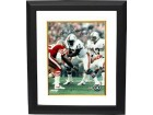 Dwight Stephenson signed Miami Dolphins 8x10 Photo Custom Framed HOF 98