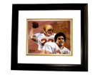 Doug Flutie signed Boston College 11X14 Photo Dual Sig Heisman Custom Framed
