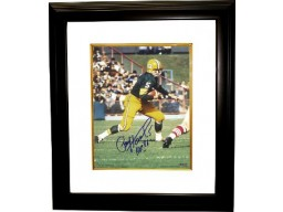 Paul Hornung signed Green Bay Packers 16X20 Photo HOF86 Custom Framed