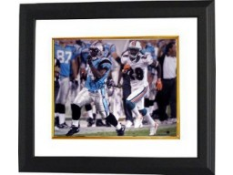 DeAngelo Williams signed Carolina Panthers 16X20 Photo Custom Framed- Williams Hologram