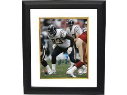 Marcus McNeill signed San Diego Chargers 8x10 Photo Custom Framed