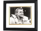 Lou Creekmur signed Detroit Lions 8x10 Photo HOF 96 Custom Framed