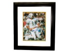 Garo Yepremian signed Miami Dolphins 8x10 Photo 17-0 Custom Framed